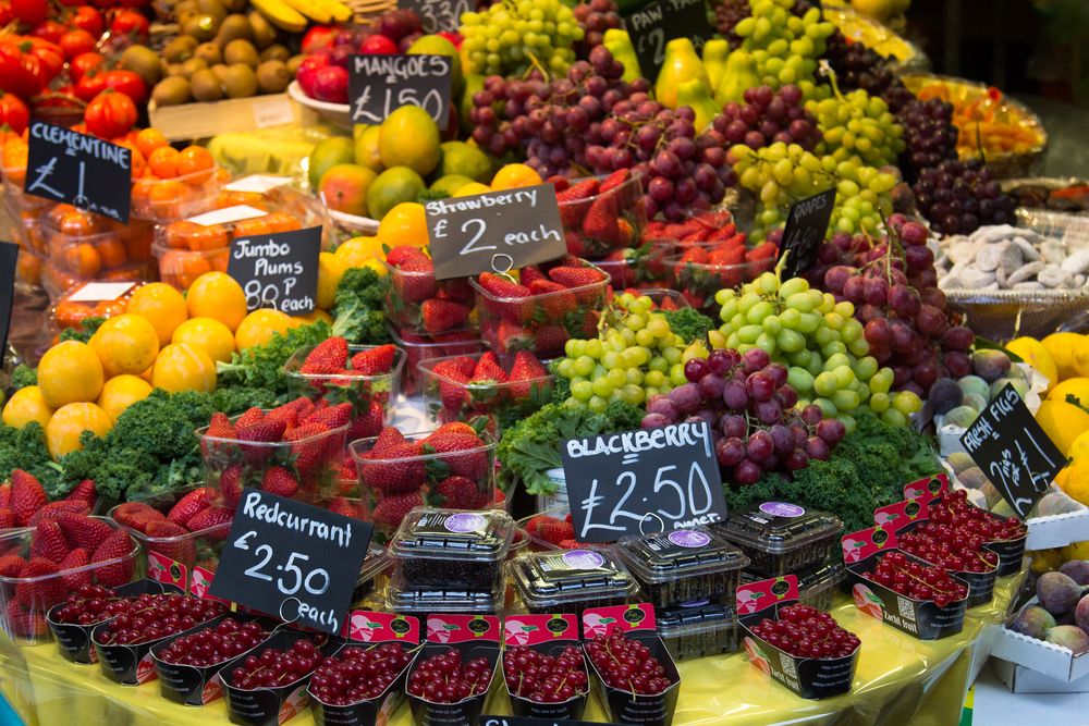 Bridget Jones's neighborhood: Borough Market in London. Photo: Shutterstock
