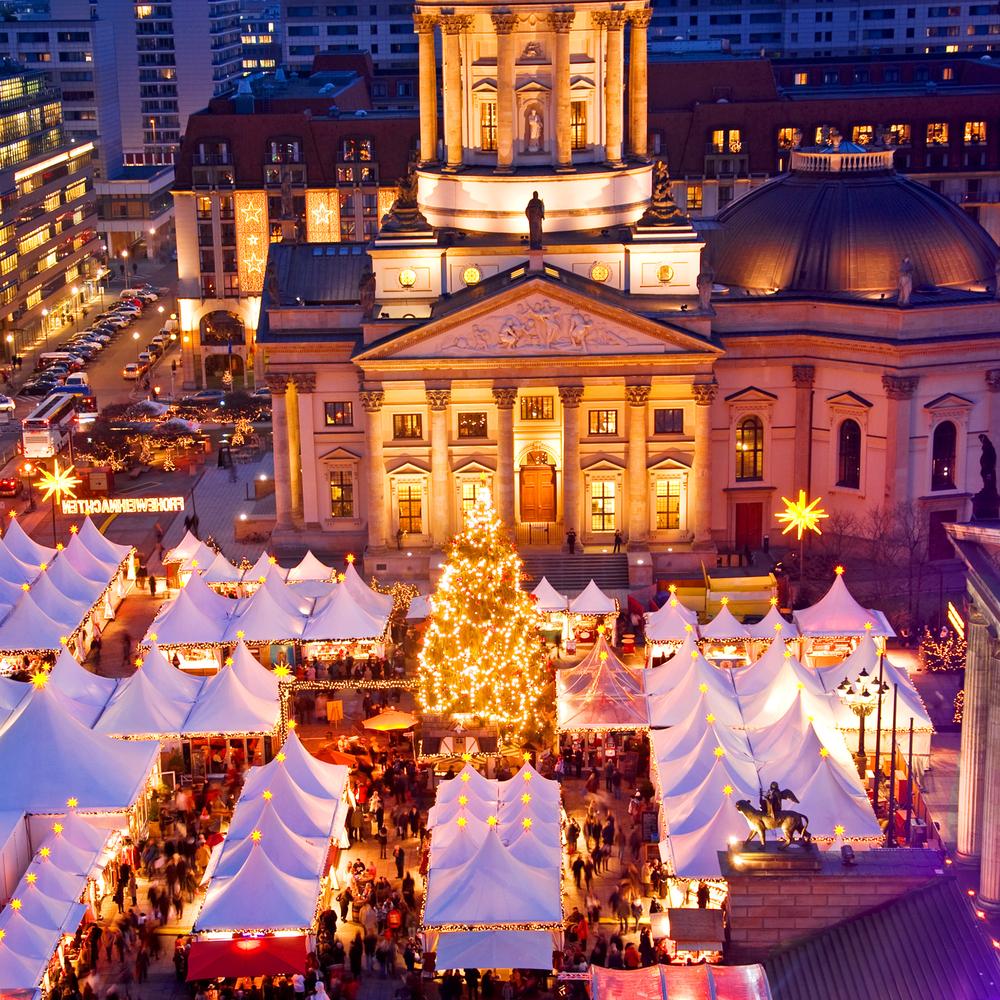 The Berlin Christmas market