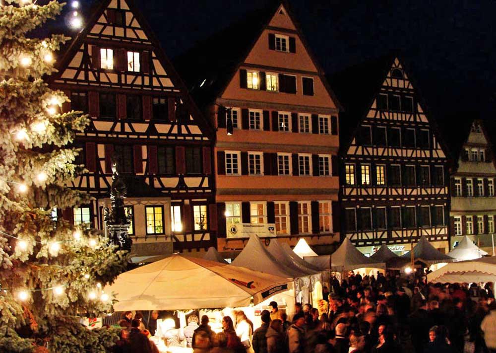Tuebingen Christmas market