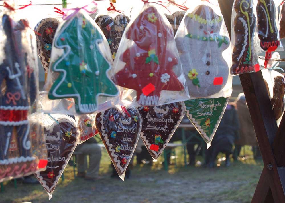 Gingerbread on sale in Skansen, Stockholm