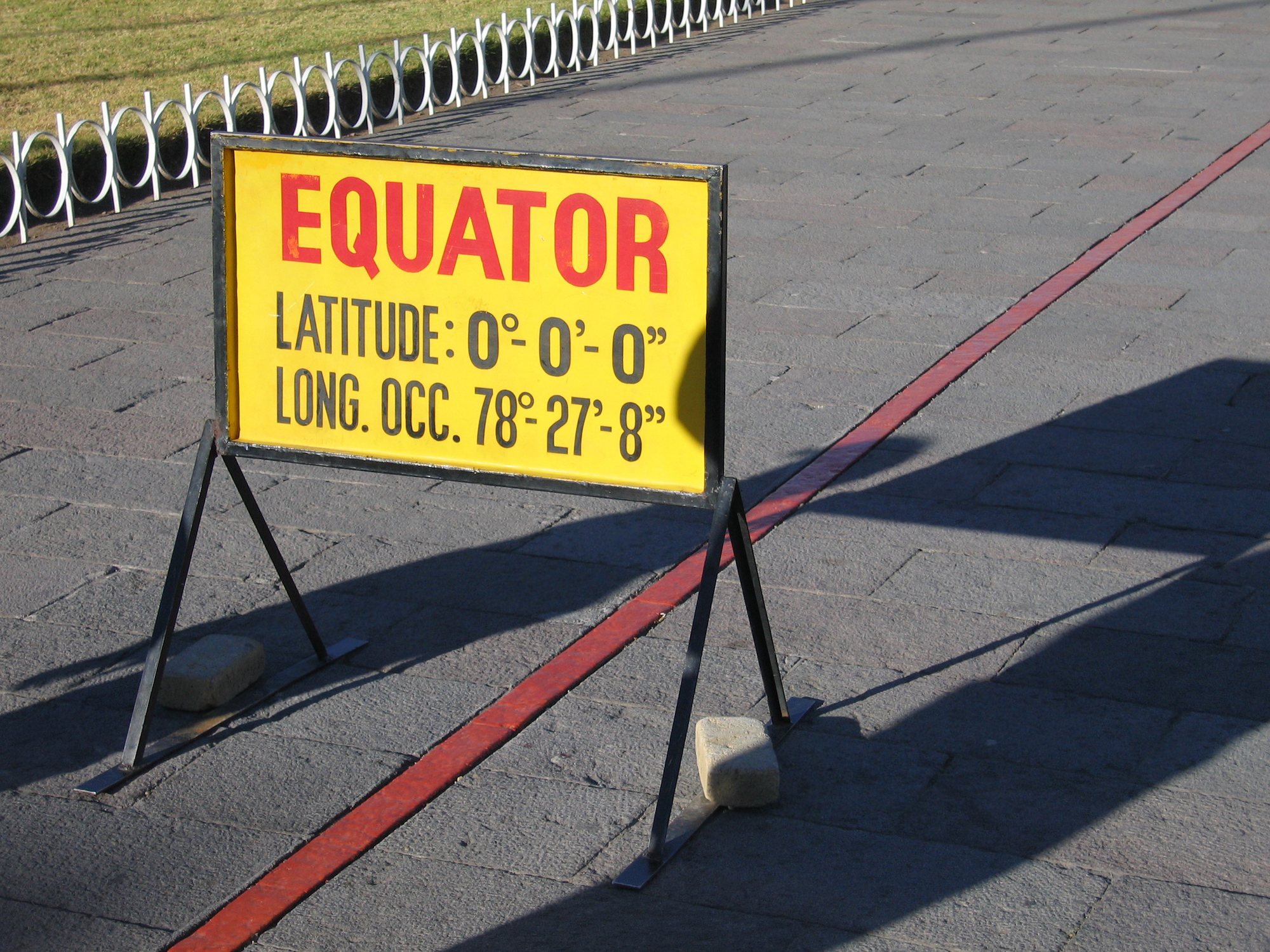 The Equator. Photo: Jennifer Stone/Shutterstock