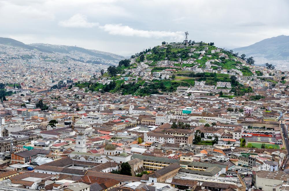 The incredible Quito, Ecuador. Photo: Shutterstock