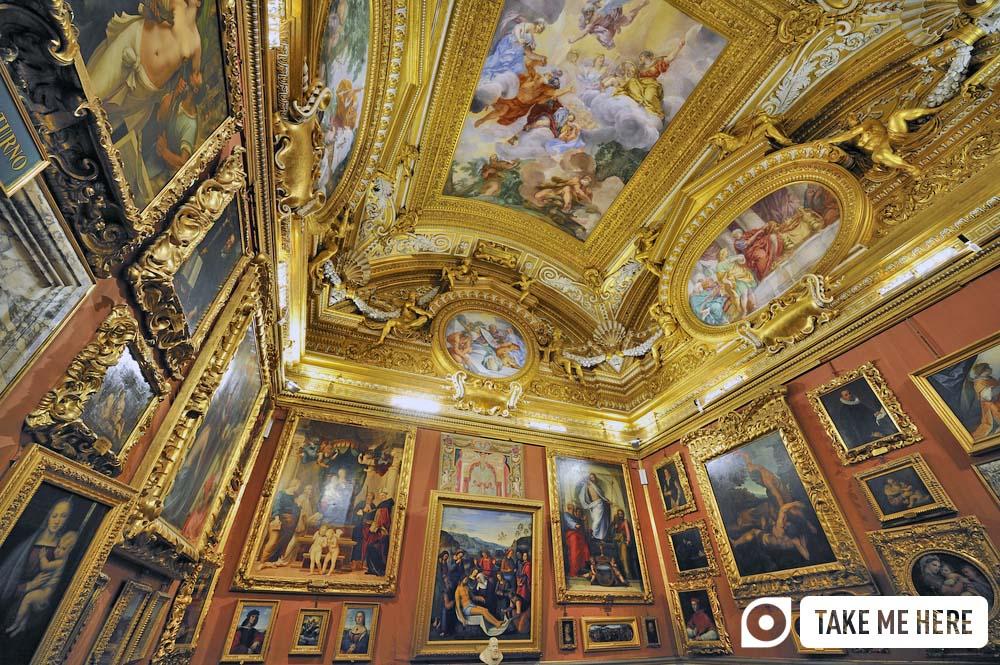Palatina Gallery, Palazzo Pitti in Florence.