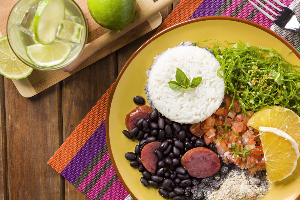Feijoada, the Brazilian cuisine tradition. Photo: Shutterstock