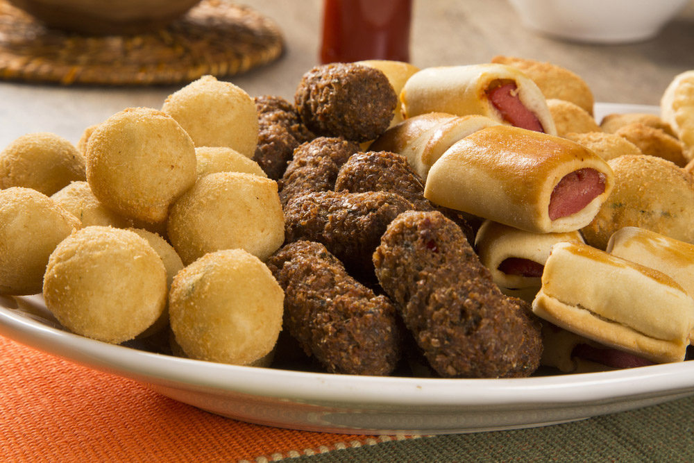 Mixed brazilian snack. Photo: Shutterstock