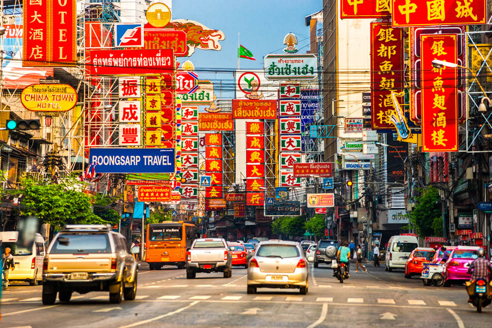 Yaowarat Road in Bangkok's Chinatown. Photo: Shutterstock