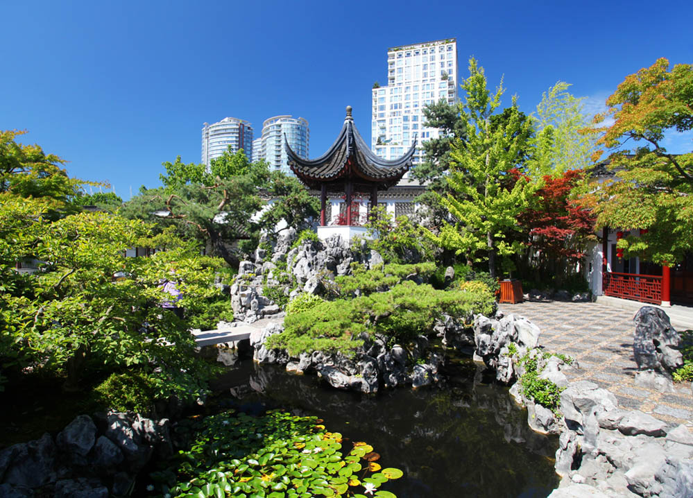 The Sun Yat-Sen Chinese Garden in Vancouver. Photo: Shutterstock