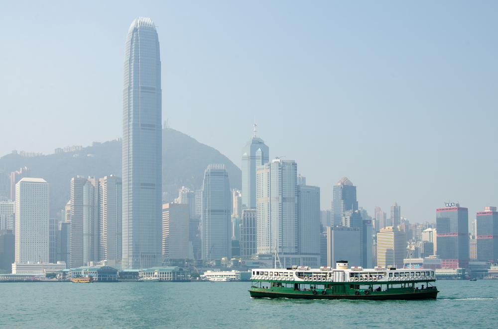 Ferry leaving Kowloon pier on October 22, 2013 in Hong Kong. Photo: Shutterstock