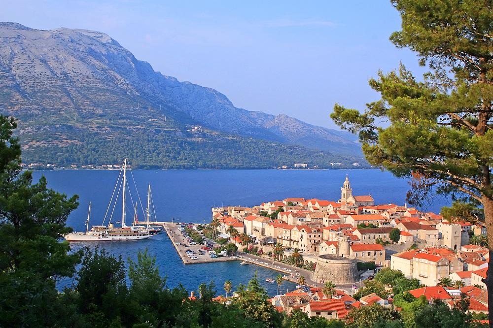 Korcula, known as little Dubrovnik, on Hvar Island, Croatia.