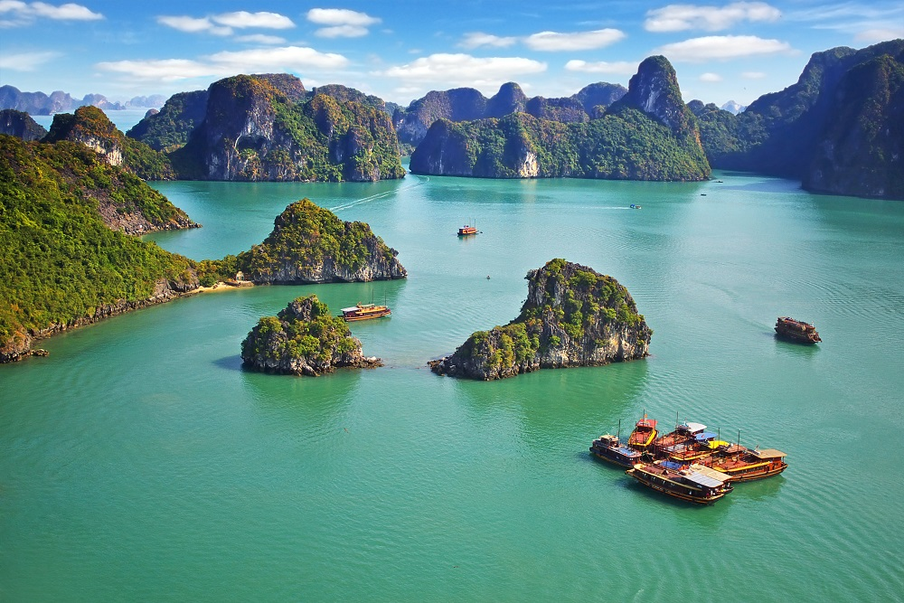 Halong Bay, Vietnam. Photo: Igor Plotnikov/Shutterstock