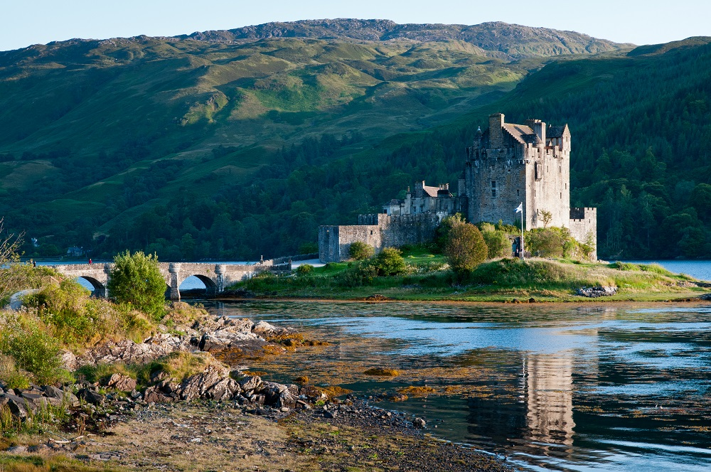 Eilean Donan Castle, Scotland. Photo: stocker1970/Shutterstock