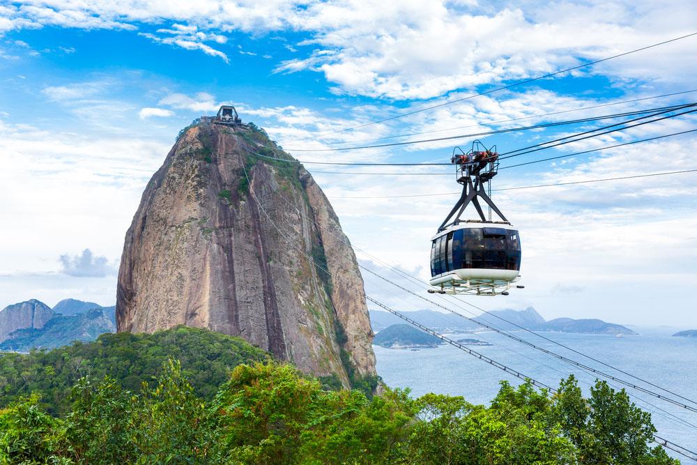 The Sugarloaf Mountain in Rio de Janeiro. Photo: Shutterstock