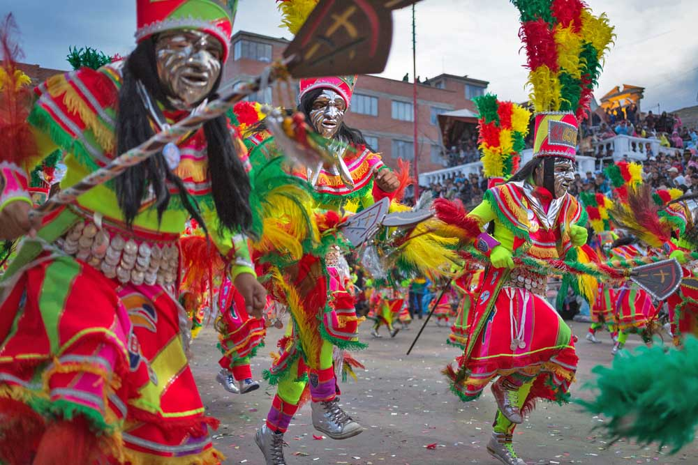 The Diablada Oruro Carnival, Bolivia.
