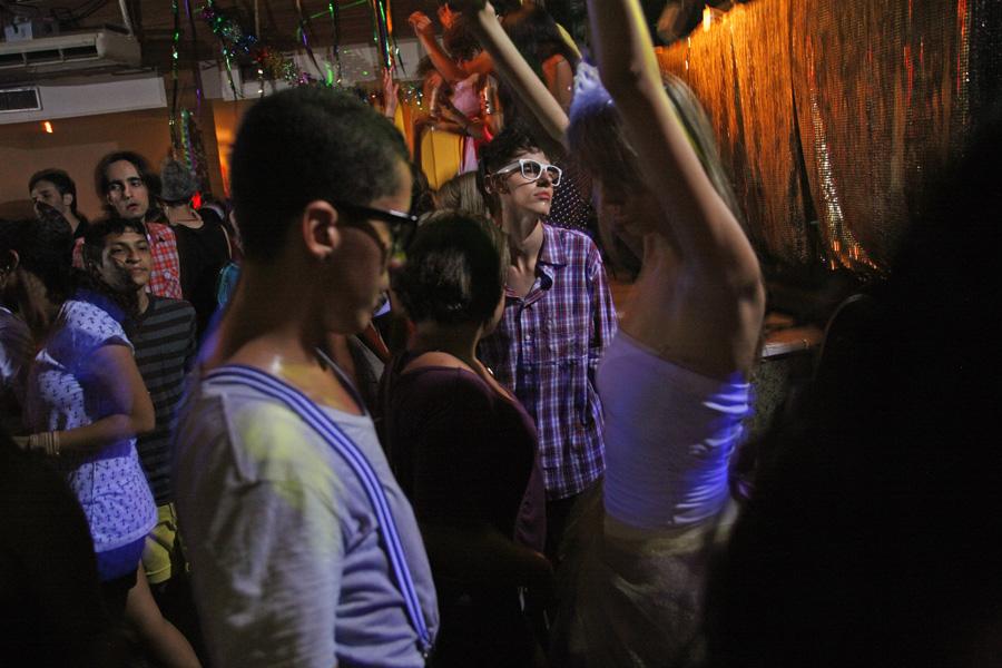 The Asa Branca night club in the Lapa area, Rio de Janeiro, Brazil. Photo: Yadid Levy/APA