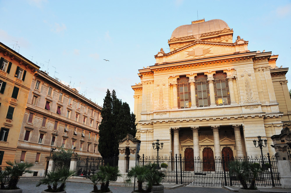 The Great Synagogue of Rome. Photo: Shutterstock