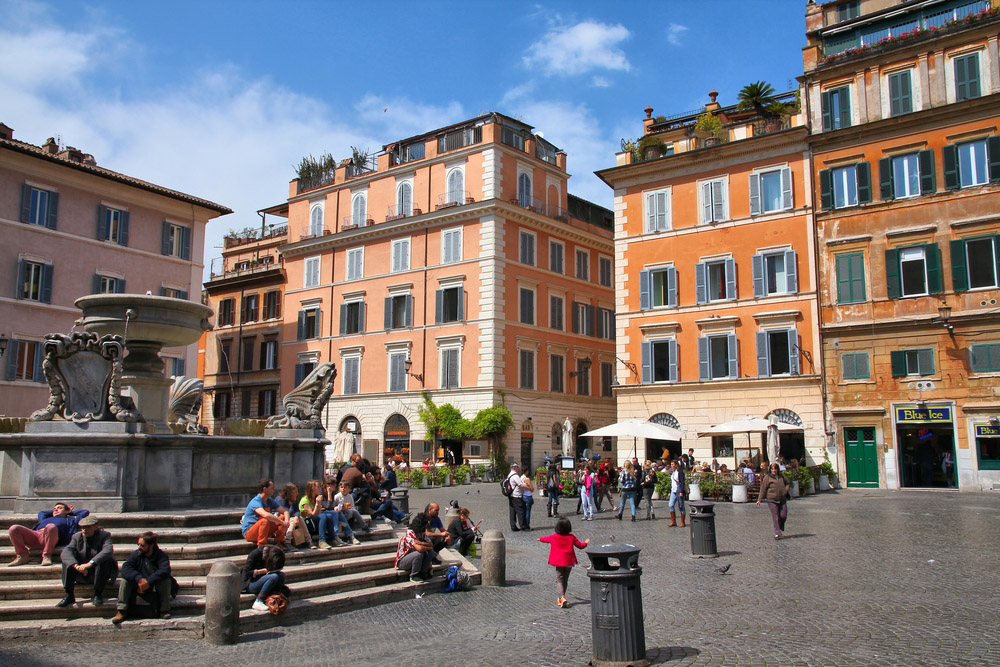 Trastevere. Photo: Shutterstock