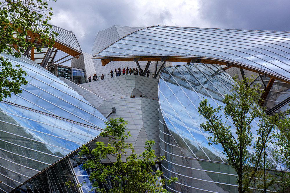Fondation Louis Vuitton. Photo: Shutterstock