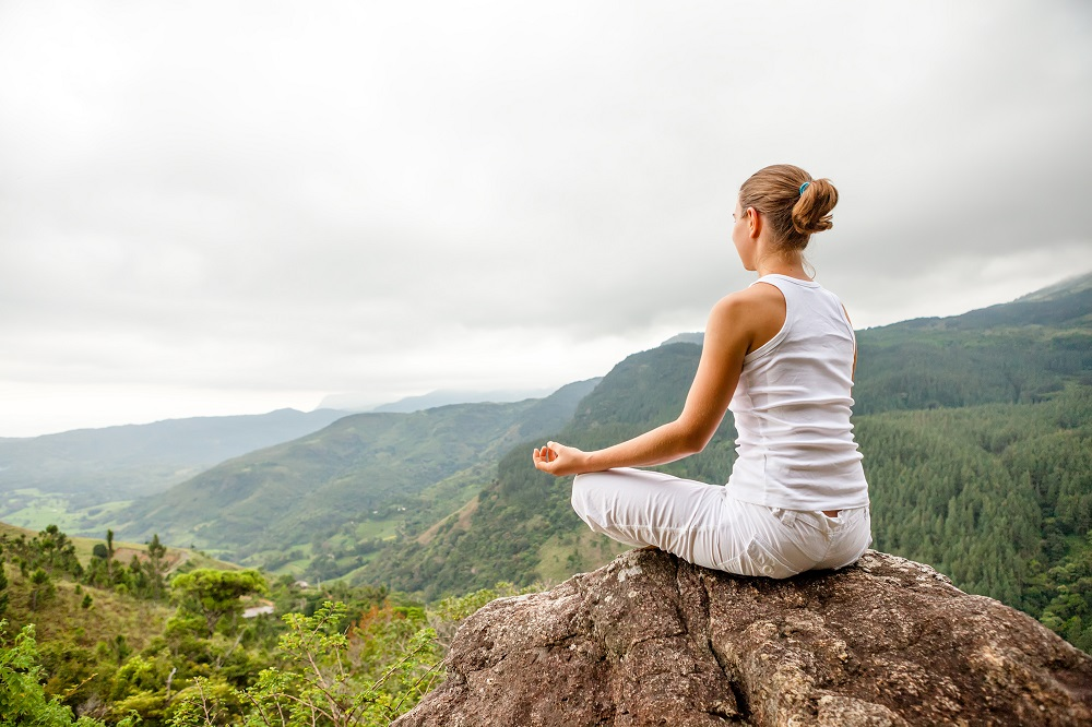 Meditation with a view at Nilambe. Photo: My Good Images/Shutterstock