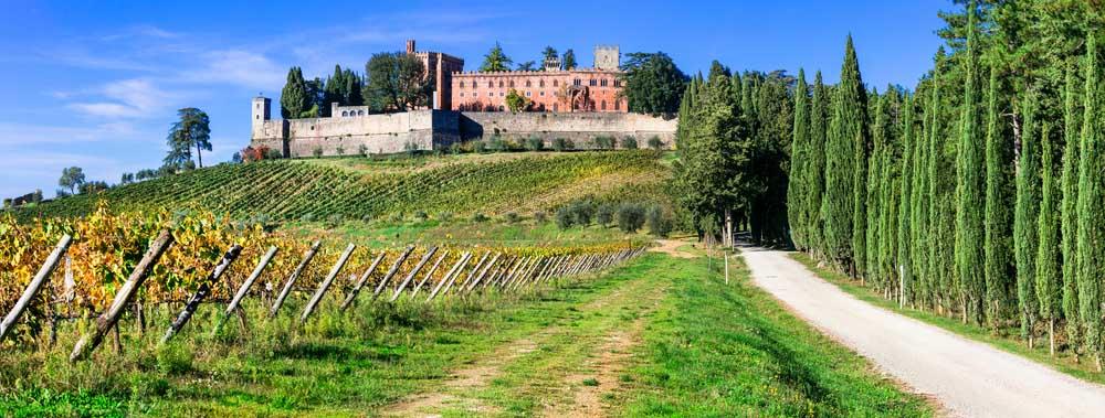 Castello di Brolio. Photo: Shutterstock