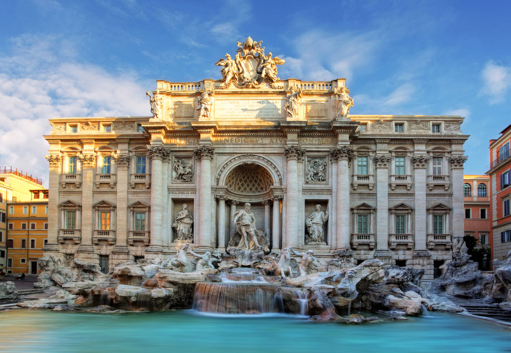 Rome, Fountain di Trevi. Photo: Shutterstock