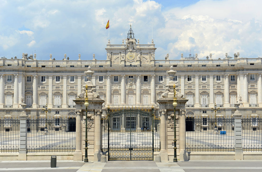 Royal Palace of Madrid. Photo: Shutterstock