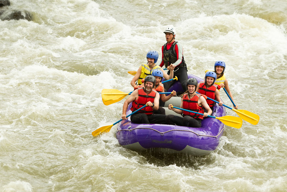 White Water Rafting in South Africa. photo: Shutterstock