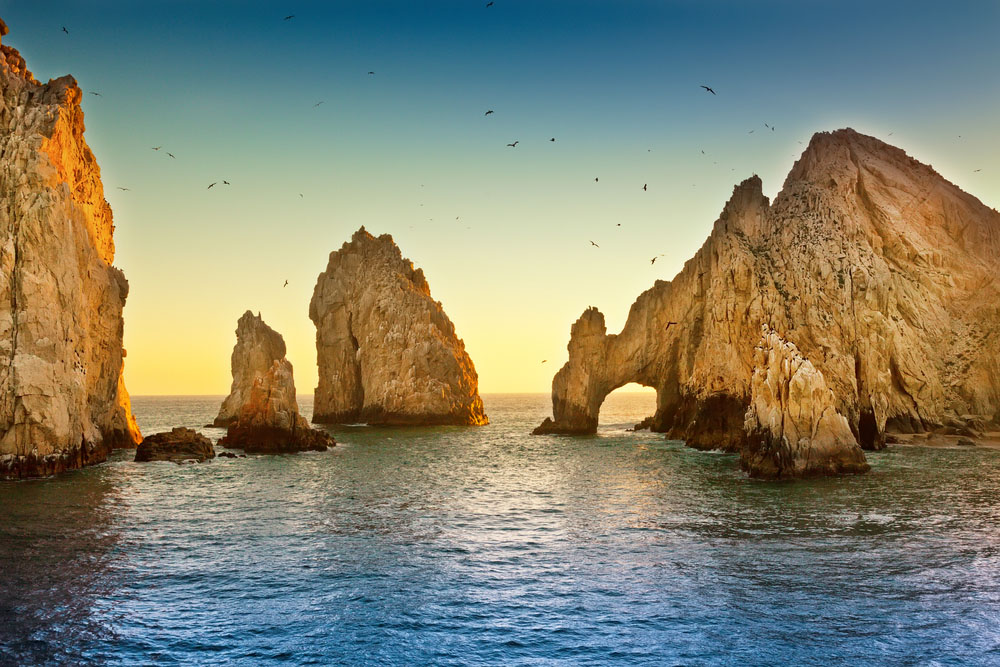 Natural rock formation at Land's End, in Cabo San Lucas. Photo: Shutterstock