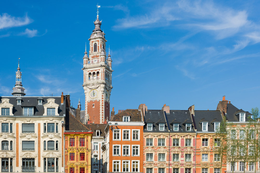 Flemish architecture in Vieux Lille. Photo: Shutterstock