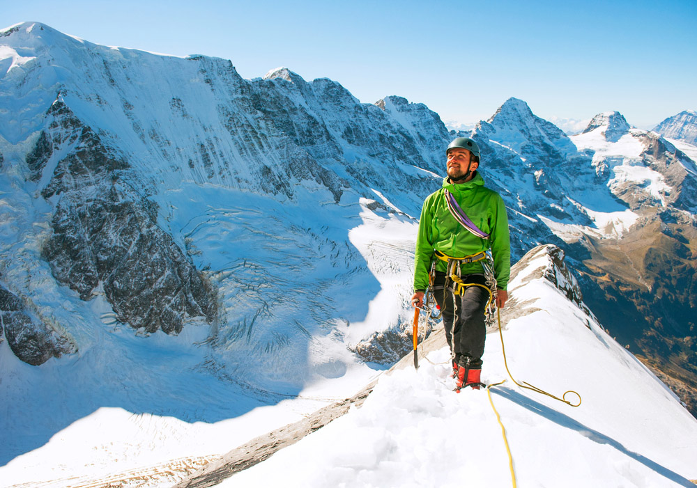 Climbing in Himalayas. Photo: Shutterstock