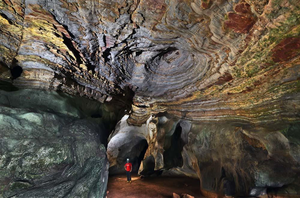 Exploring the caves around Merapoh