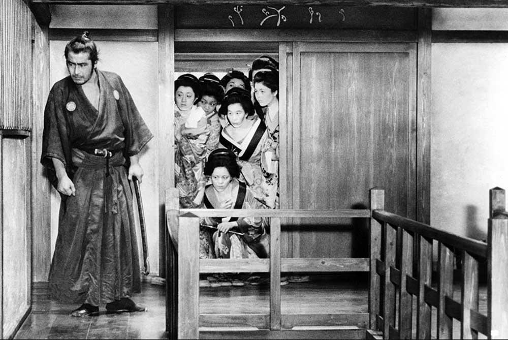 Screenshot of Yojimbo by Akira Kurosawa