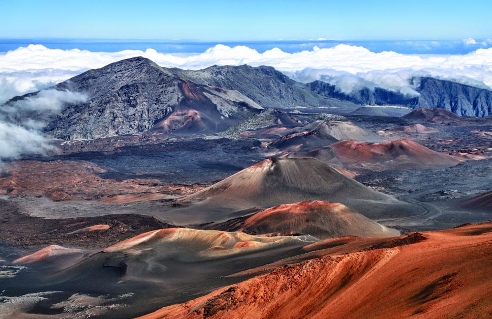 Haleakala volcano. Photo: Shutterstock