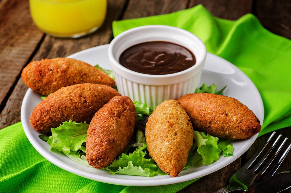 Kibbeh, traditional Arabian meatballs. Photo: Shutterstock