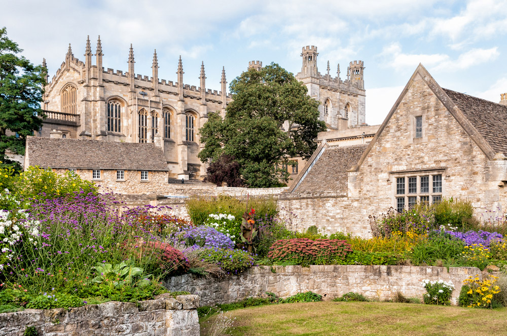 The War Memorial Garden at Christ Church College in Oxford. Photo: Shutterstock
