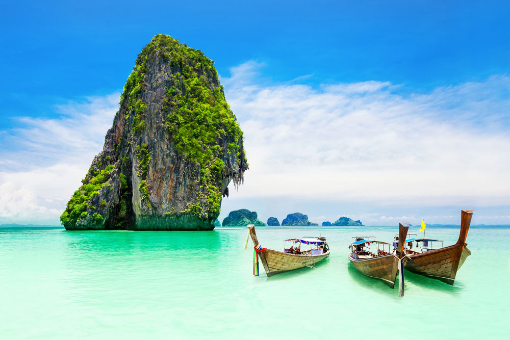 Thailand's Krabi beach is a lover's paradise. Photo: Shutterstock