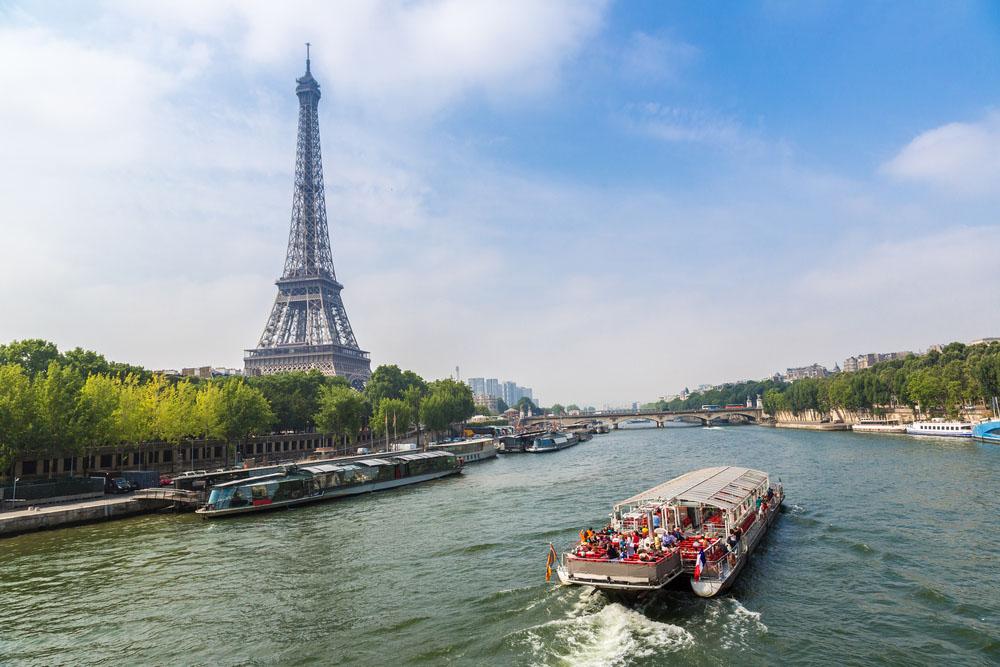 The Seine in Paris. Photo: Shutterstock