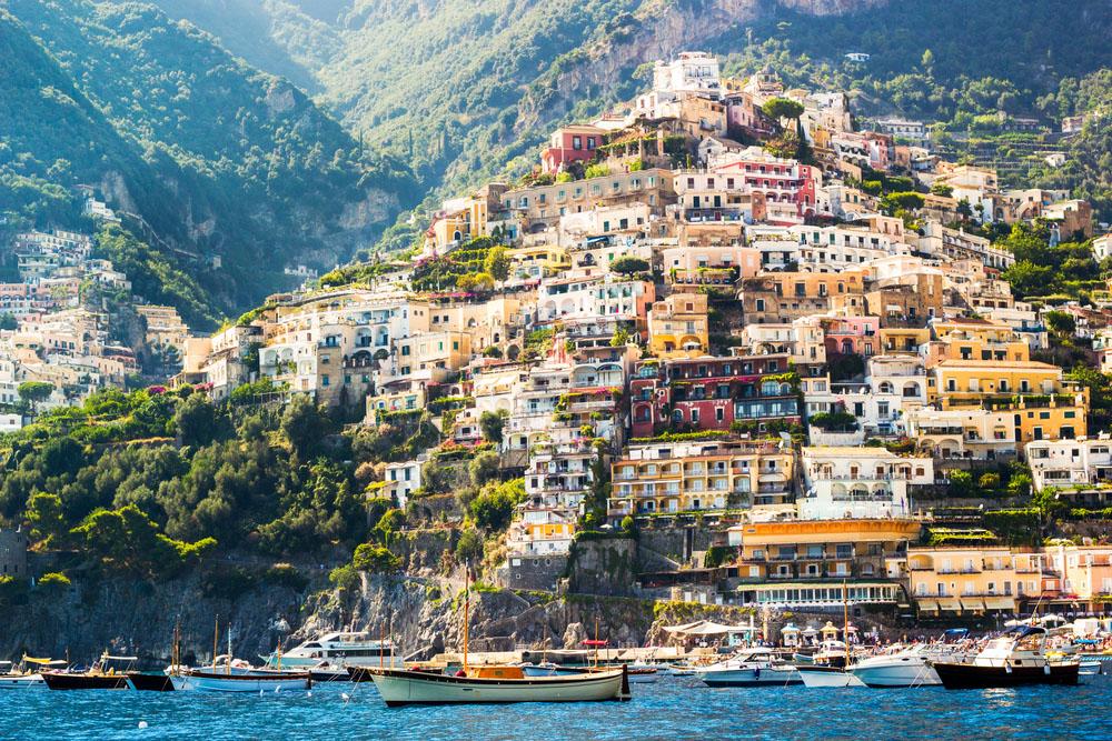 Charming Positano. Photo: Shutterstock