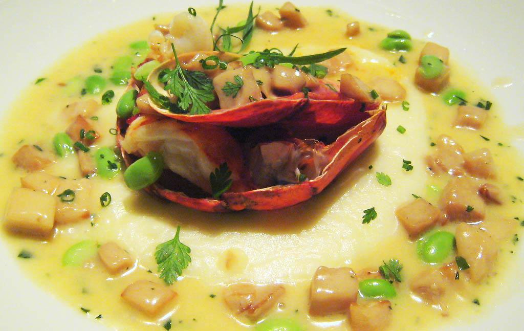 Gary Danko roasted lobster. Photo:  Charles Haynes/Flickr