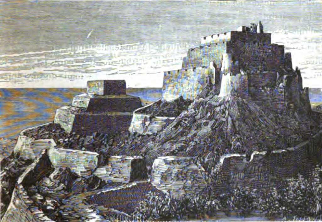 One Chimú sites, Fortaleza Paramonga. Source: Charles Wiener/Wikimedia Commons