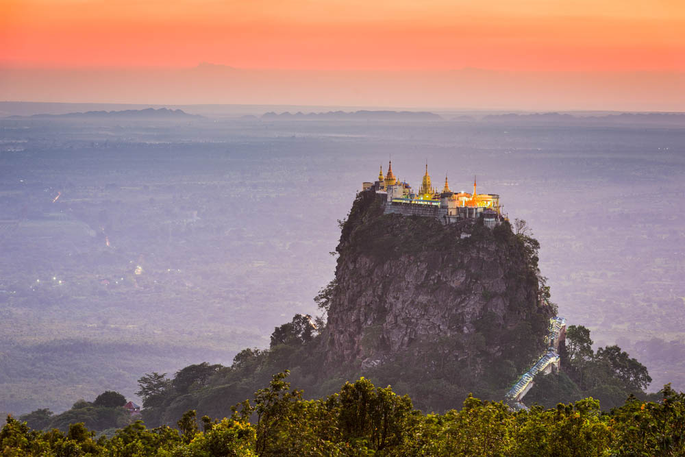Mt. Popa. Photo: Shutterstock