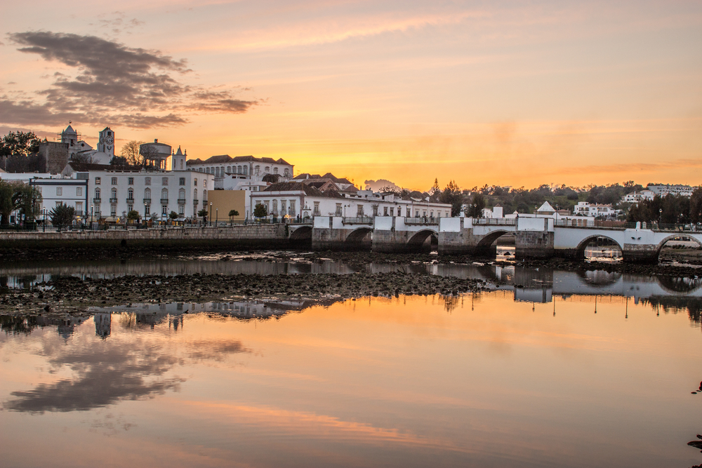 Tavira, one of the the Algarve's most attractive towns