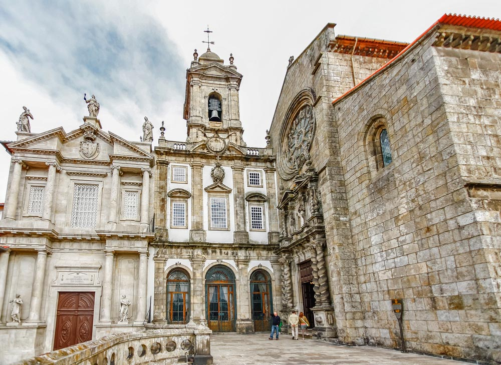 Gothic Igreja de São Francisco in Porto.
