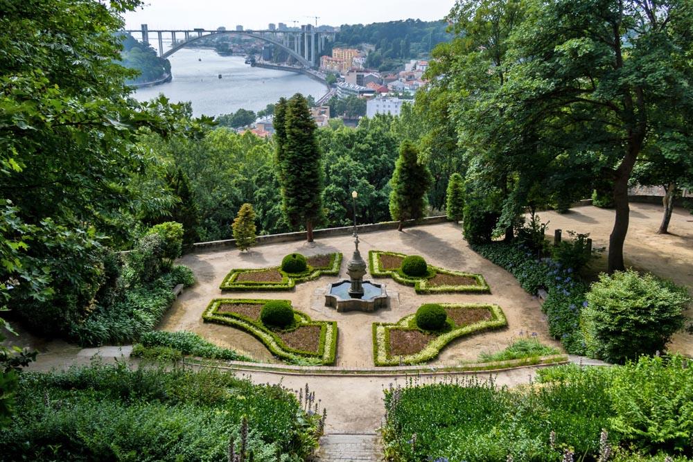 Palácio de Cristal Park, Porto.