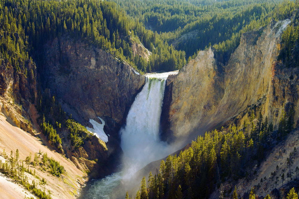 Grand Canyon of the Yellowstone National Park. Photo: Shutterstock