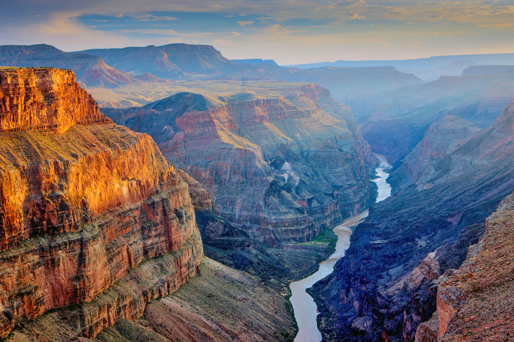 Sunset at Toroweap, Grand Canyon National Park, Arizona. Photo: Shutterstock