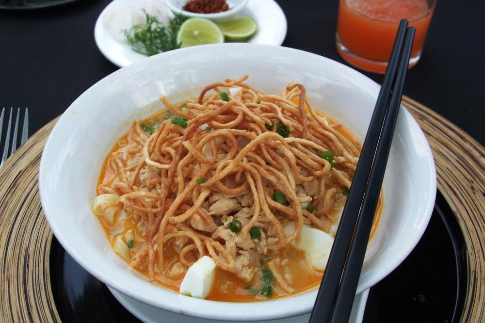 Shan noodle, Myanmar. Photo: Shutterstock