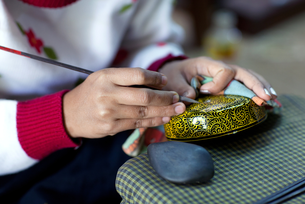 Lacquerware in Myanmar. Photo: Shutterstock