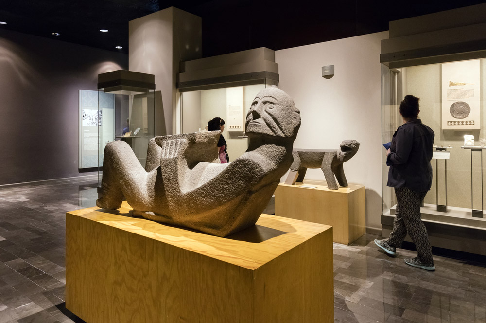 Interior of National Museum of Anthropology in Chapultepec Park. Photo: Shutterstock