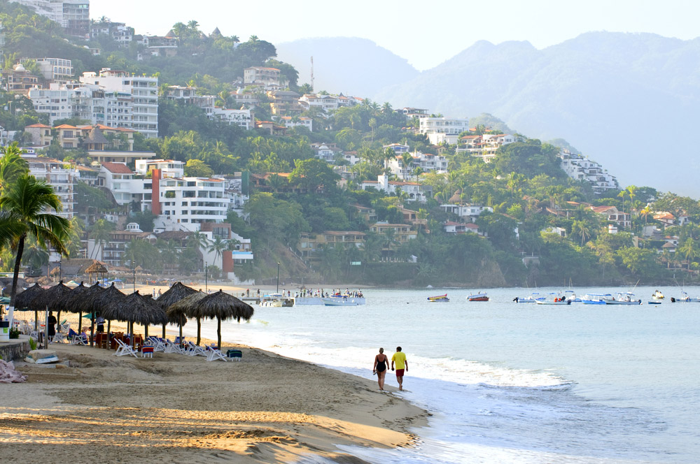 Morning beach and ocean in Puerto Vallarta. Photo: Shutterstock