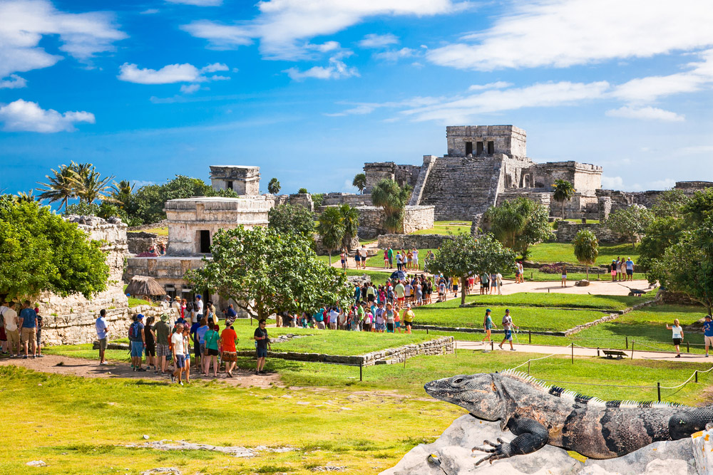 Archaeological sites of Tulum. Photo: Shutterstock